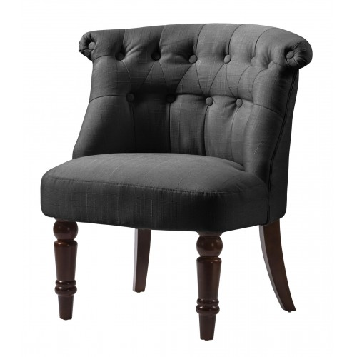 Alderwood Fabric Chair Black
